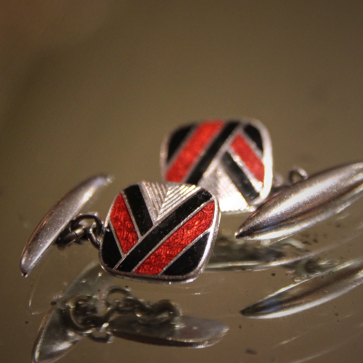 Art Deco Victory Cufflinks