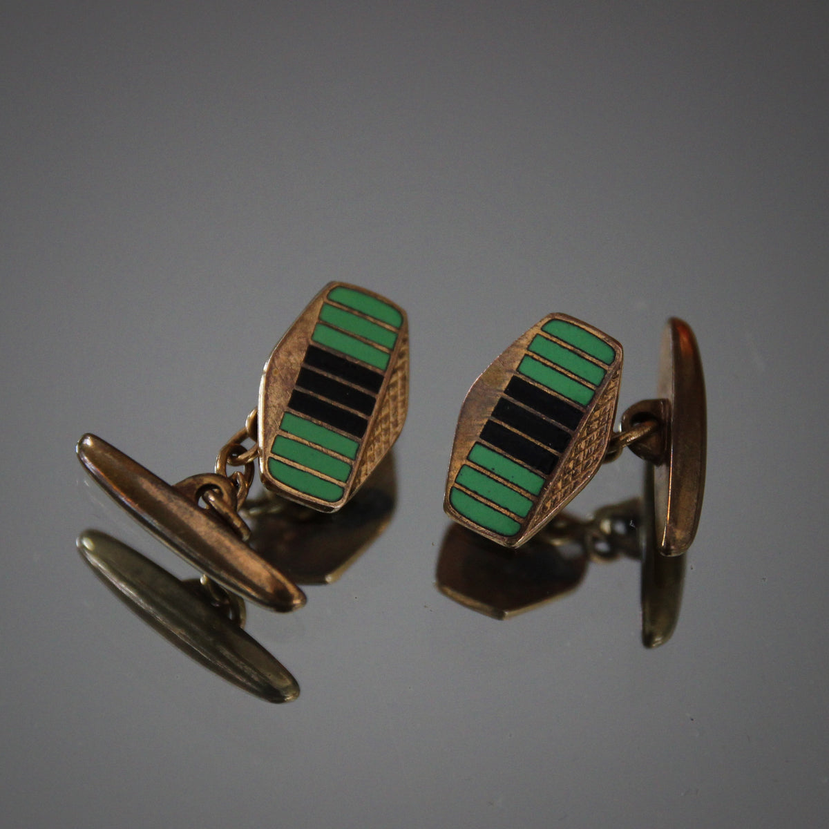 English Deco Cufflinks