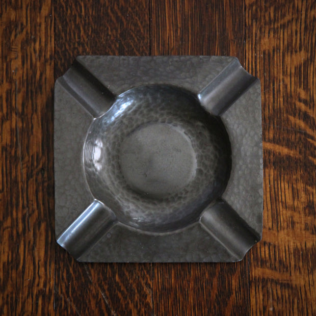 English Pewter Ashtray