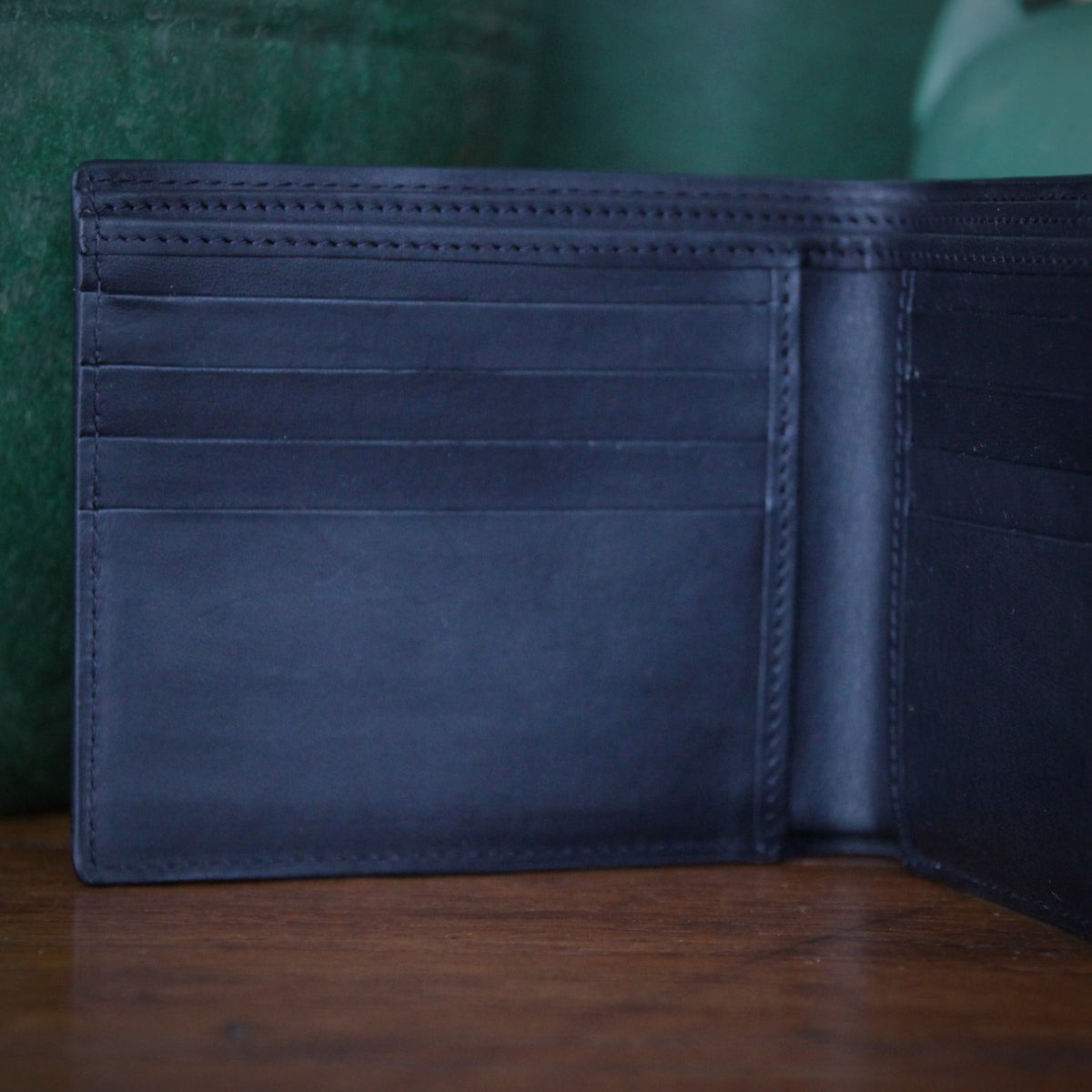 Classic Black Leather Wallet