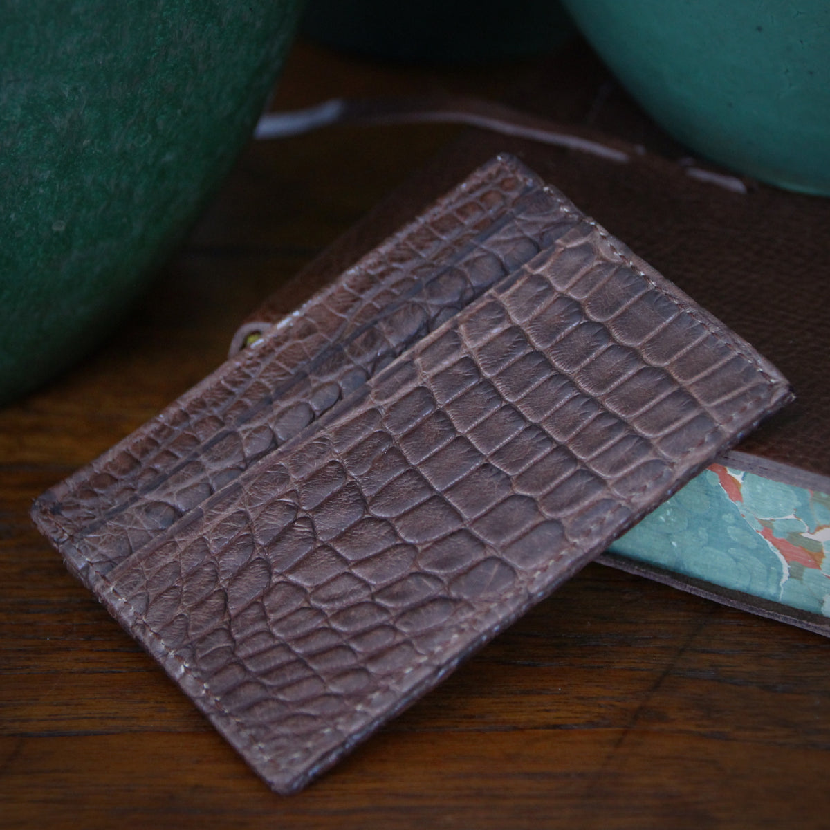 Alligator Credit Card Sleeve