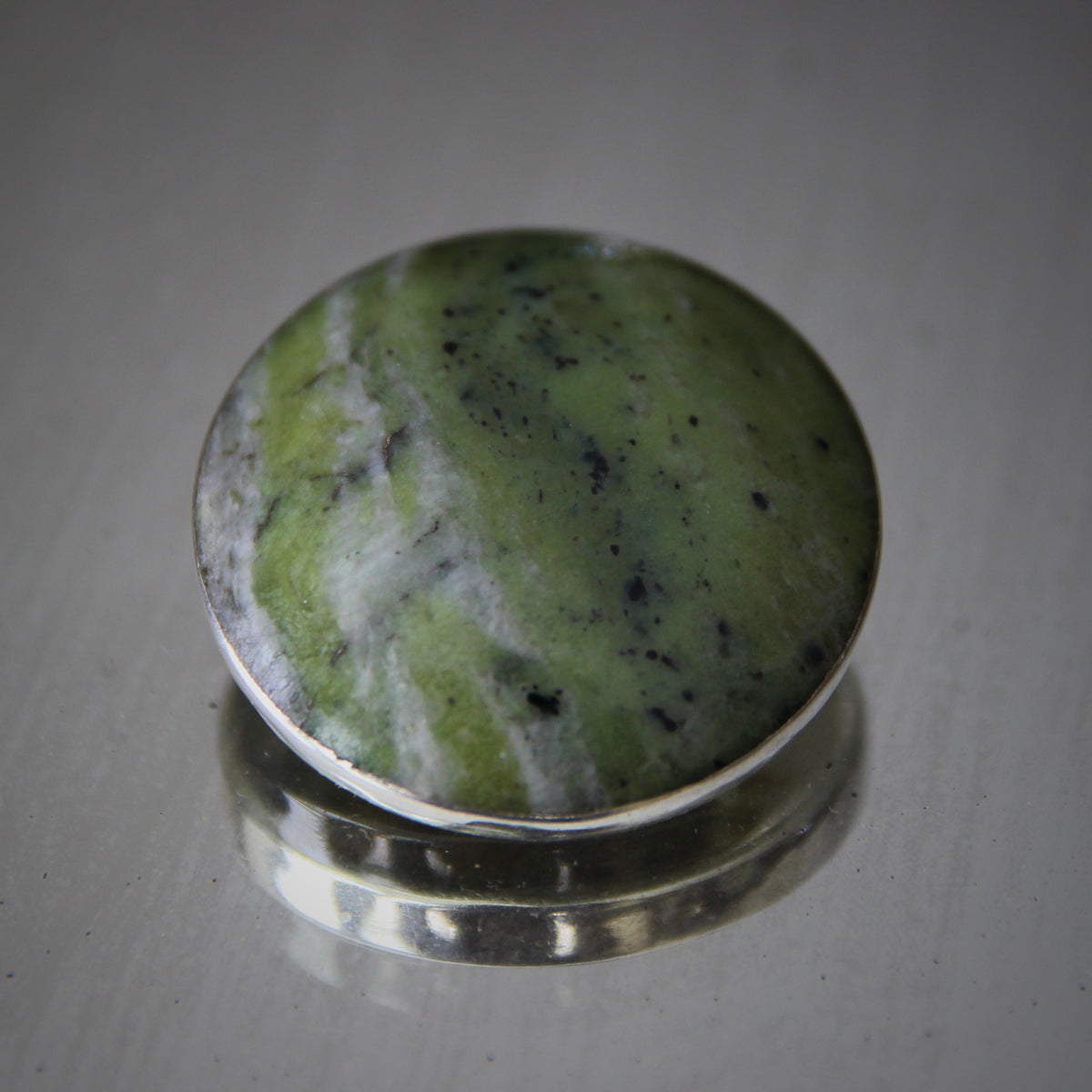 Irish Connemara Marble Pin