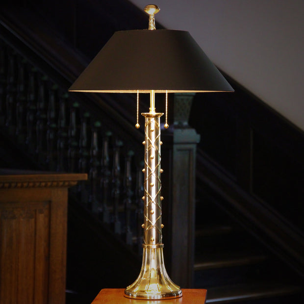 Laced & Studded Lamp