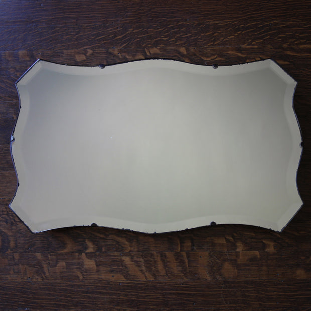 Bevelled Chevron Mirror