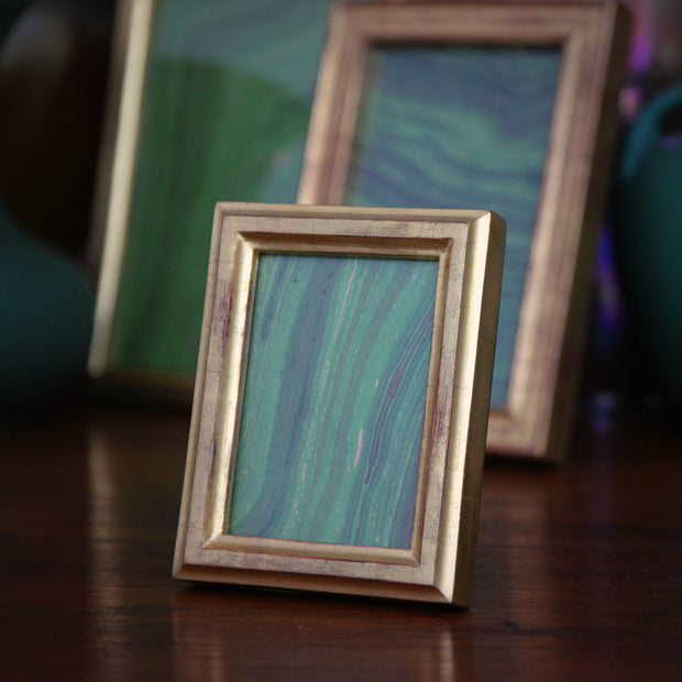 Gold Leaf Center Ridge Frame (2.5x3.5)
