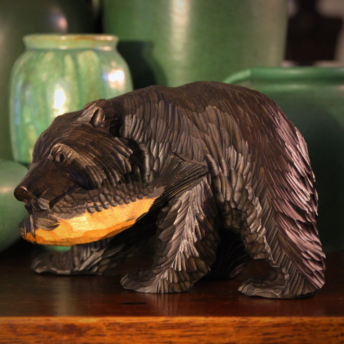 Japanese Carved Bear