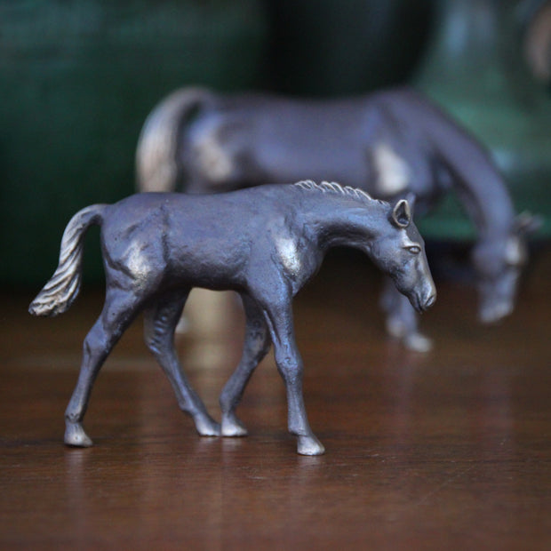 Bronze Foal Sculpture
