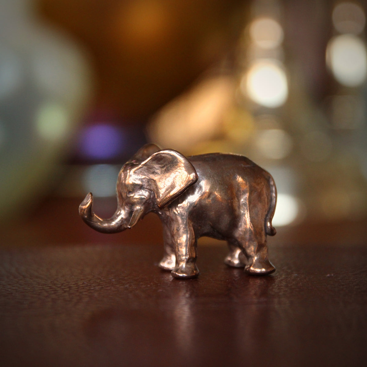 Lucky Bronze Elephant