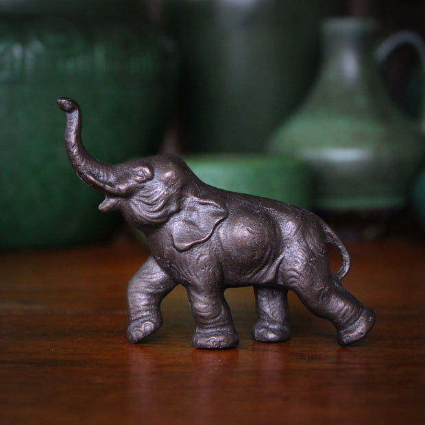 Trumpeting Elephant Sculpture