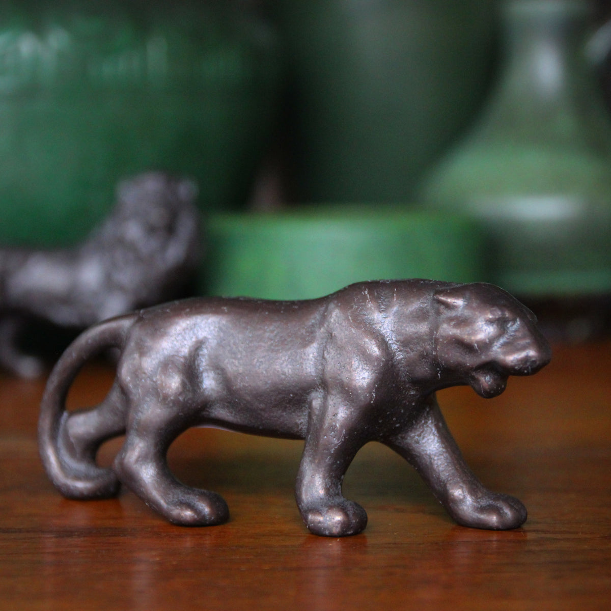 Bronze Lioness Sculpture