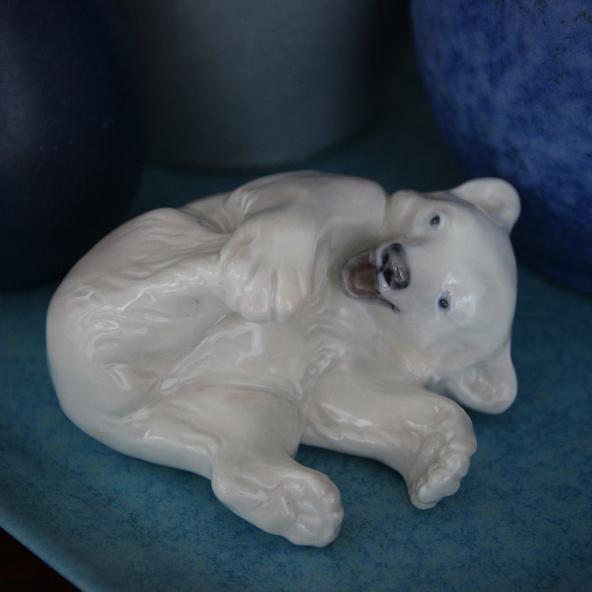 Danish Polar Bear Cub Sculpture