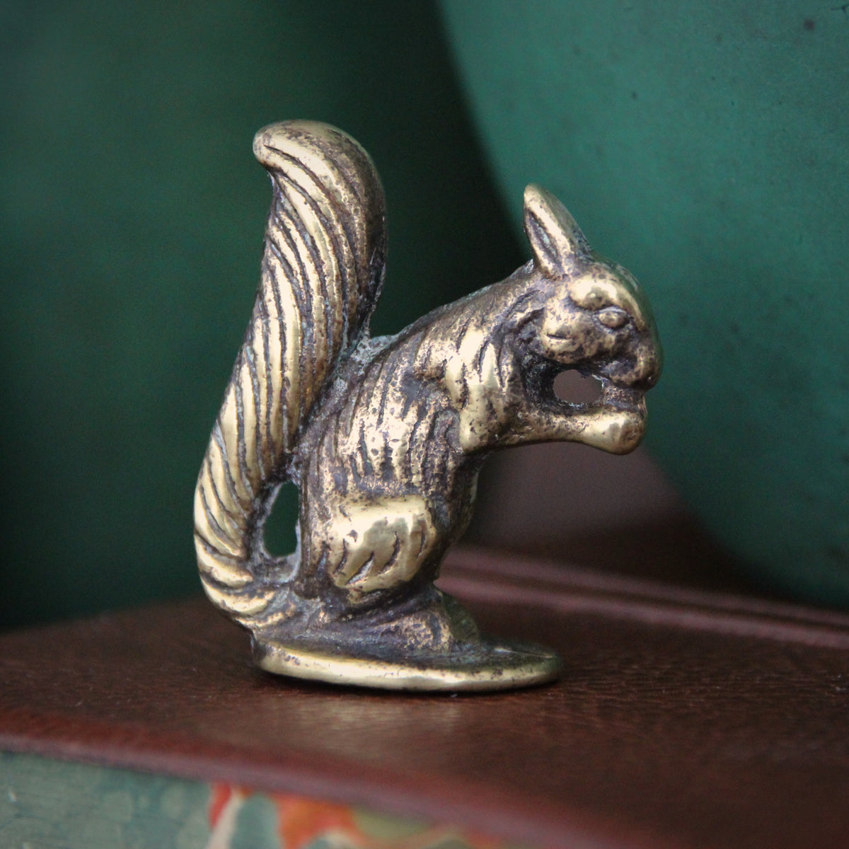 English Brass Squirrel