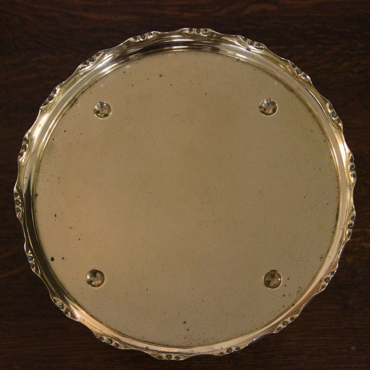 WMF German Brass Tray