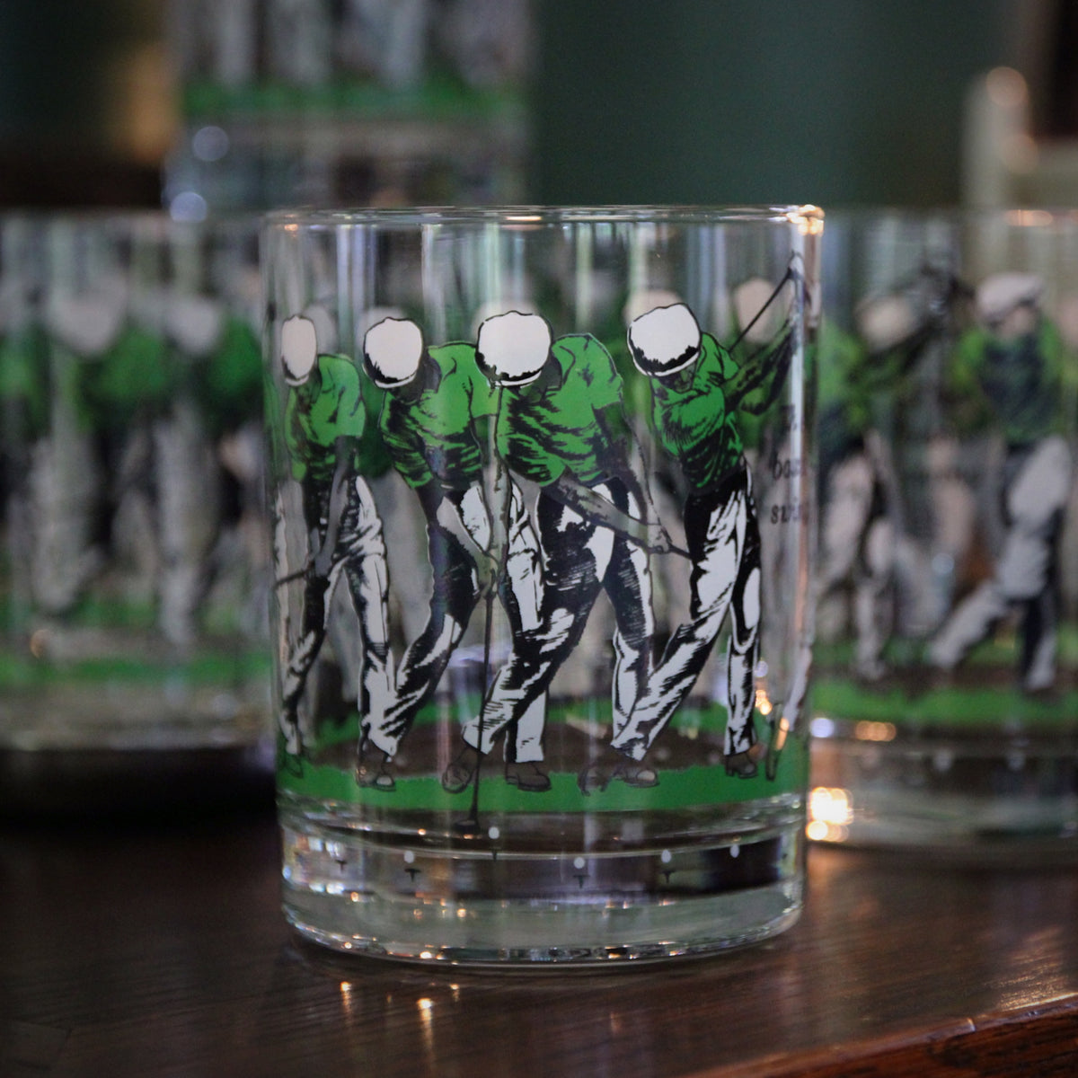 Golfing Rocks Glasses (Six)