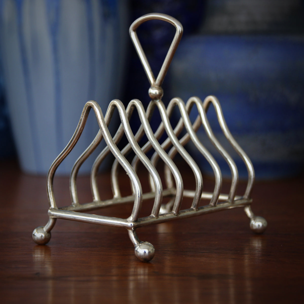Victorian Silver-plated Toast Rack