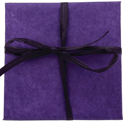 Purple tissue gift wrap for Handmade Jewelry
