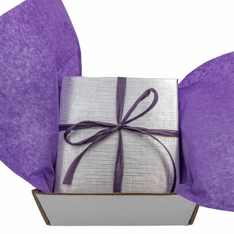 Nicely presented gift box with a ribbon For Handmade Artisan Jewelry