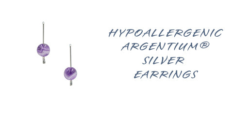 Hypoallergenic Argentium Silver Earring Collection