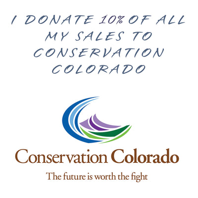 Donating proceeds to Conservation Colorado