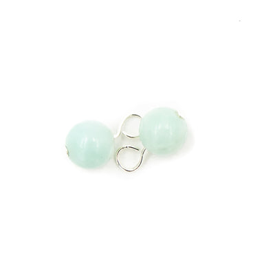 Handmade Amazonite Sterling Silver Dangles