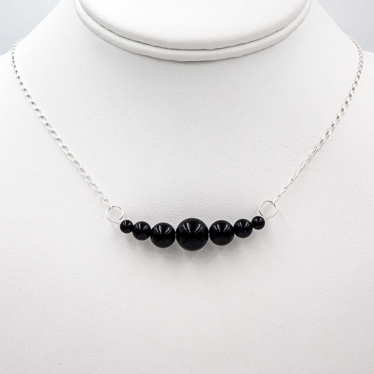 Onyx ~ Dangles Interchangeable Necklace