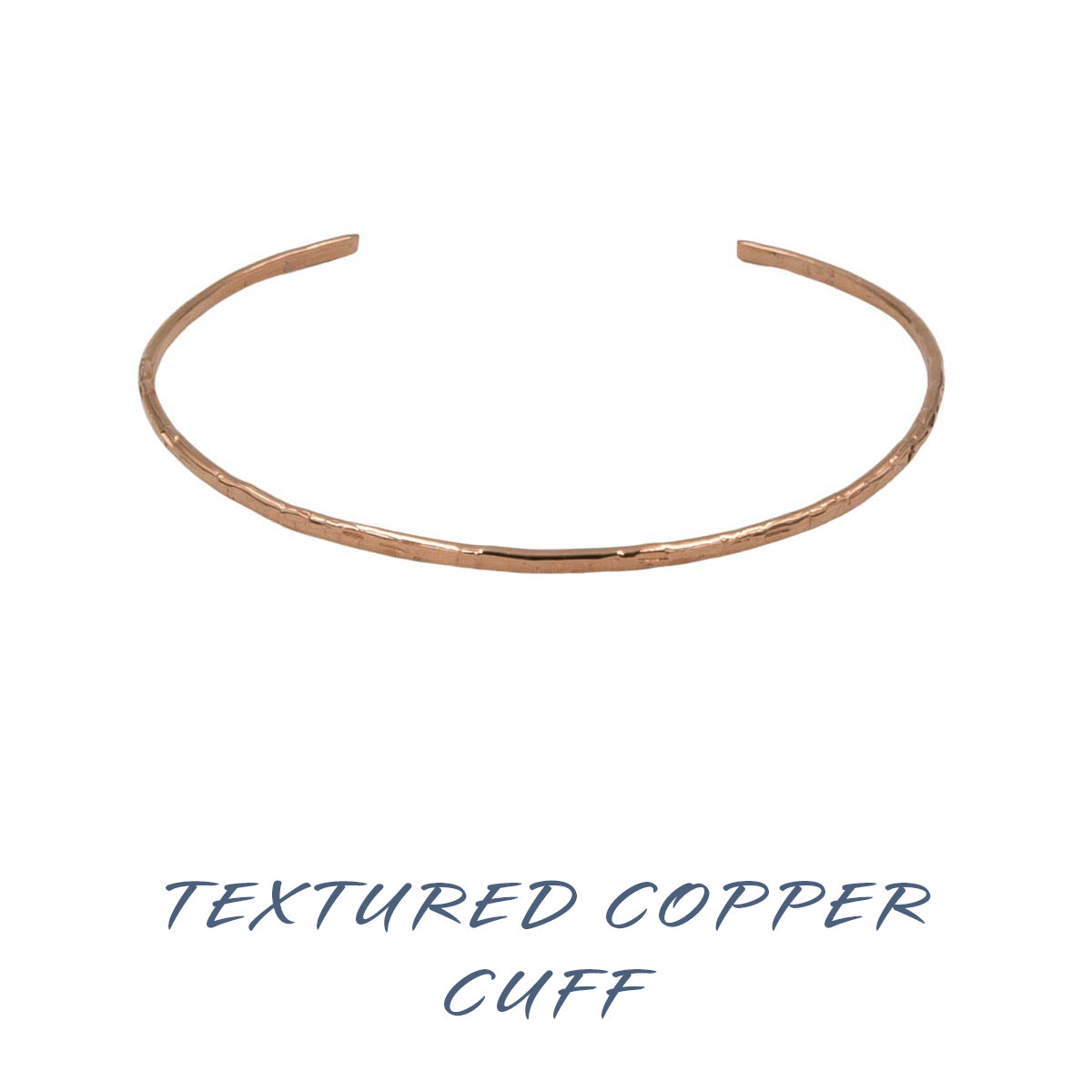 Handmade Hammered Copper Cuff Bracelet  One-Size-Fits-All  Quality Craftsmanship