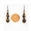 Tigereye Copper Earrings