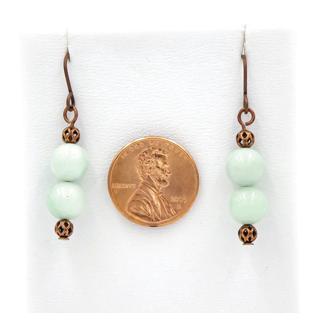 Ethereal Amazonite On Copper