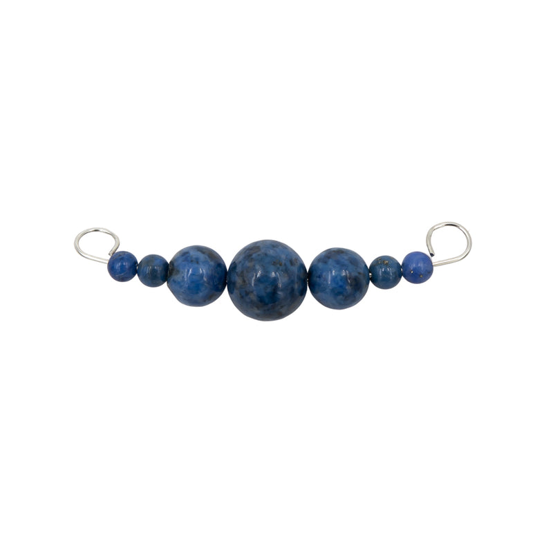 Denim Lapis ~ Dangles Interchangeable Necklace
