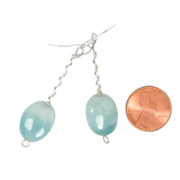 Seafoam Twist Around Earrings