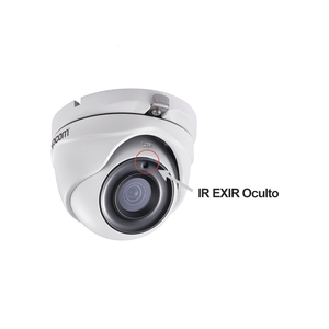 Camara Eyeball EPCOM 5 MP TurboHD Lente Gran Angular 2.8 mm 85° Visión Nocturna 20 m E50-TURBO-MW