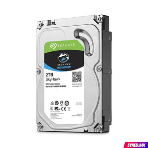 "Disco Duro SEAGATE SkyHawk 2 TB 3.5"" SATA III Optimizado para video vigilancia 24/7"