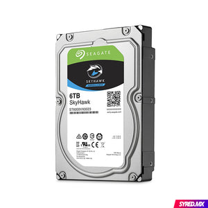 "Disco Duro SEAGATE SkyHawk 6 TB 3.5"" SATA III 7200RPM Optimizado para video vigilancia 24/7"