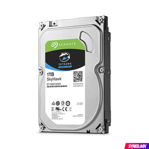 "Disco Duro SEAGATE SkyHawk 1 TB 3.5"" SATA III 5900 RPM Optimizado para video vigilancia 24/7 ST1000VX005"