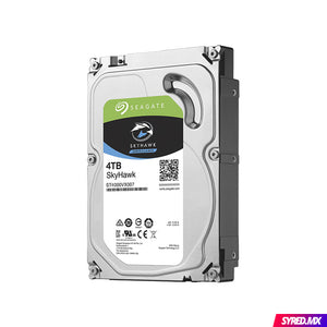 "Disco Duro SEAGATE SkyHawk 4 TB 3.5"" SATA III 5900 RPM Optimizado para video vigilancia 24/7"