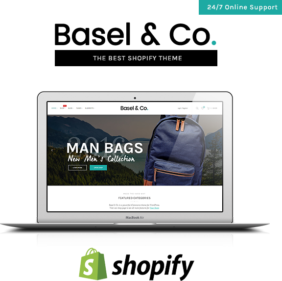 Basel - Responsive eCommerce Shopify Theme (Fashion, Electronics and many more) - 8