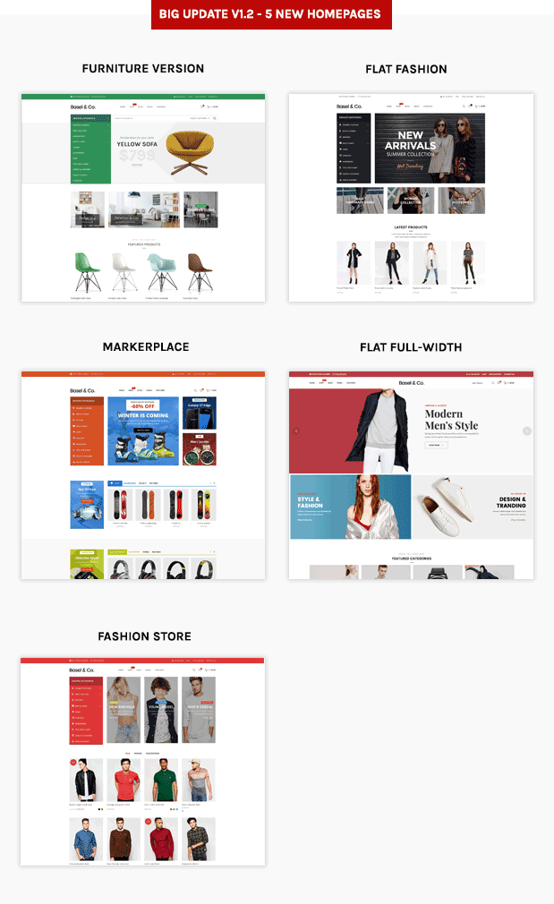 Basel - Responsive eCommerce Shopify Theme (Fashion, Electronics and many more) - 6
