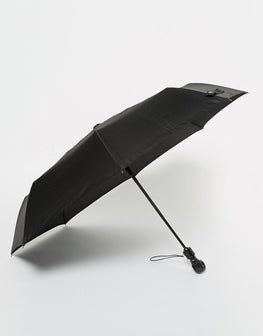 Black umbrella in handle