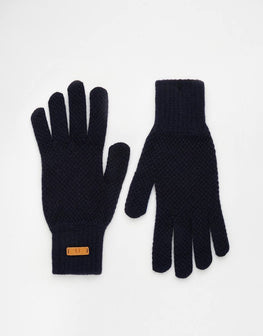 Gloves selected ribbed