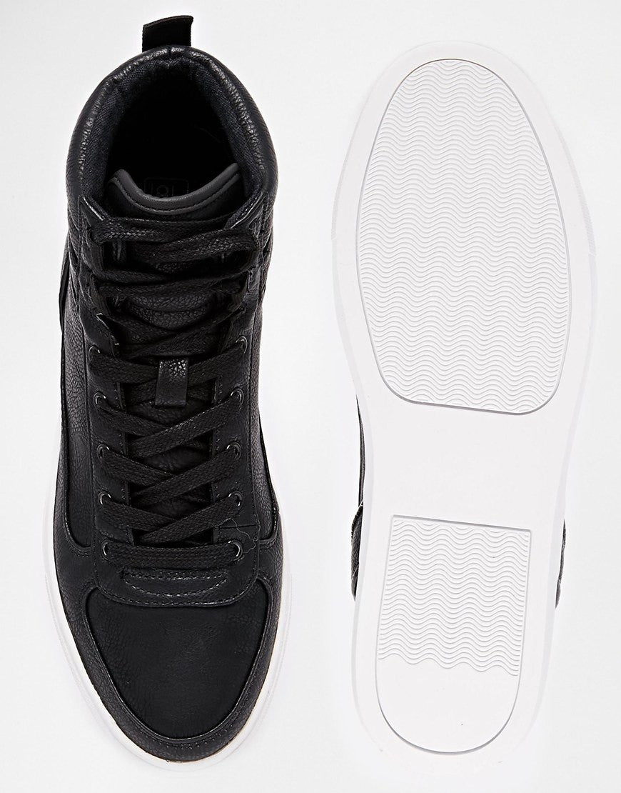 Basic contrast sneakers