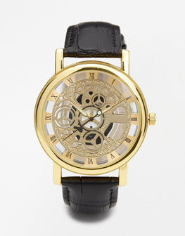 Eart metallic watch