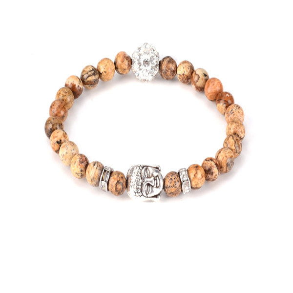 Buddha Head Yoga Bracelet | Sedona Moonrise