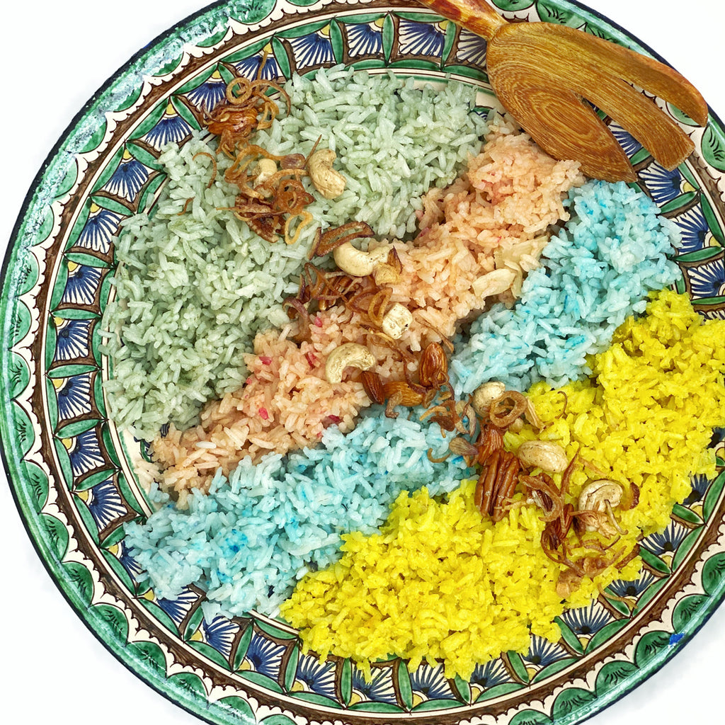 Fragrant Four Colour Rice