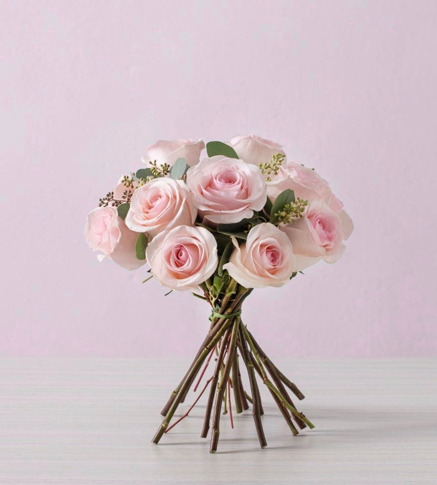 Baby Love Pink Roses Flower Bouquet 母亲节 鲜花 永生花 Mothers