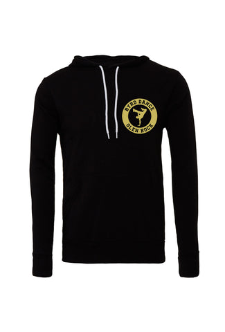 Byrd Dance Adult Hooded Sweatshirt - Gold Design