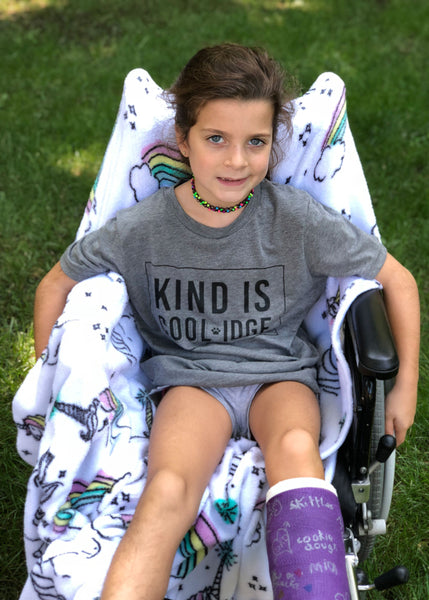 "Coolidge Youth S/S ""Kind Is Coolidge"" Tee"