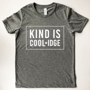 Coolidge Adult 'Kind Is Coolidge' Tee - White Design