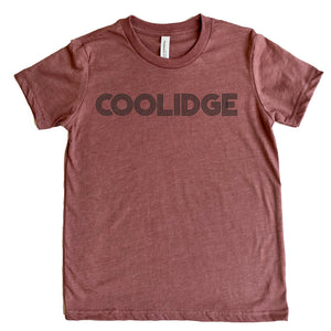 Coolidge Adult Retro Design Tee