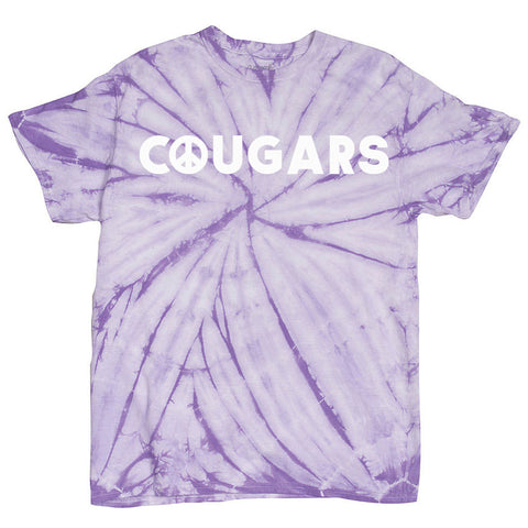 Coolidge Adult Lavender Tie Dye Tee