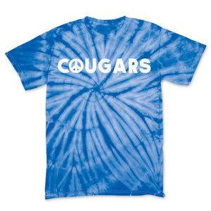 Coolidge Adult Royal Blue Tie Dye Tee